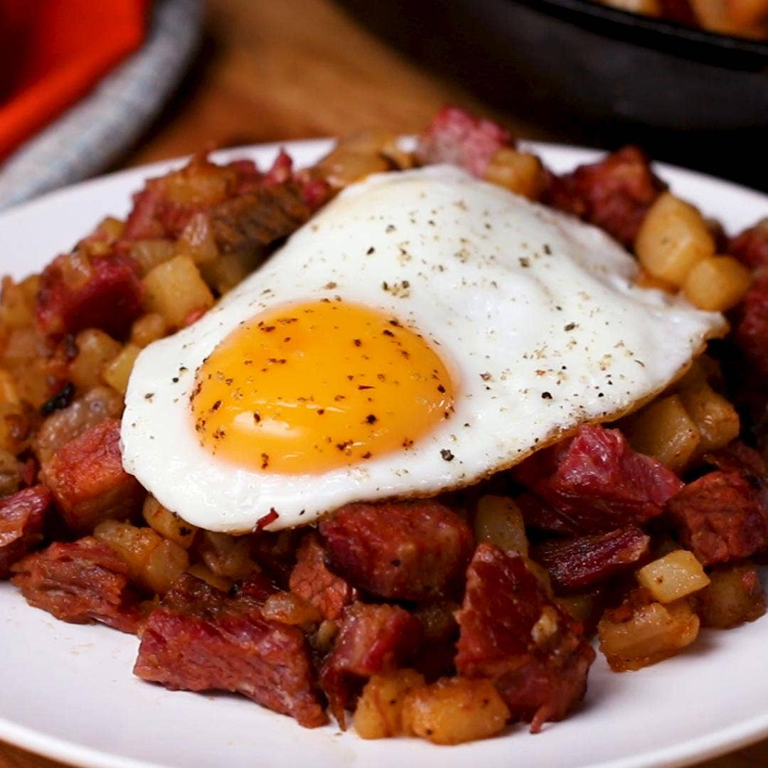 Corned Beef Hash Recipe By Tasty