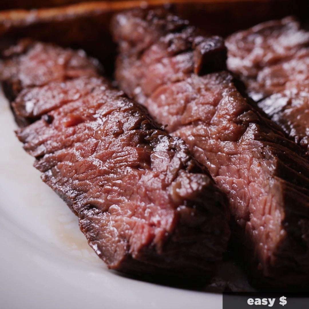 Easy Flap Steak Recipe By Tasty