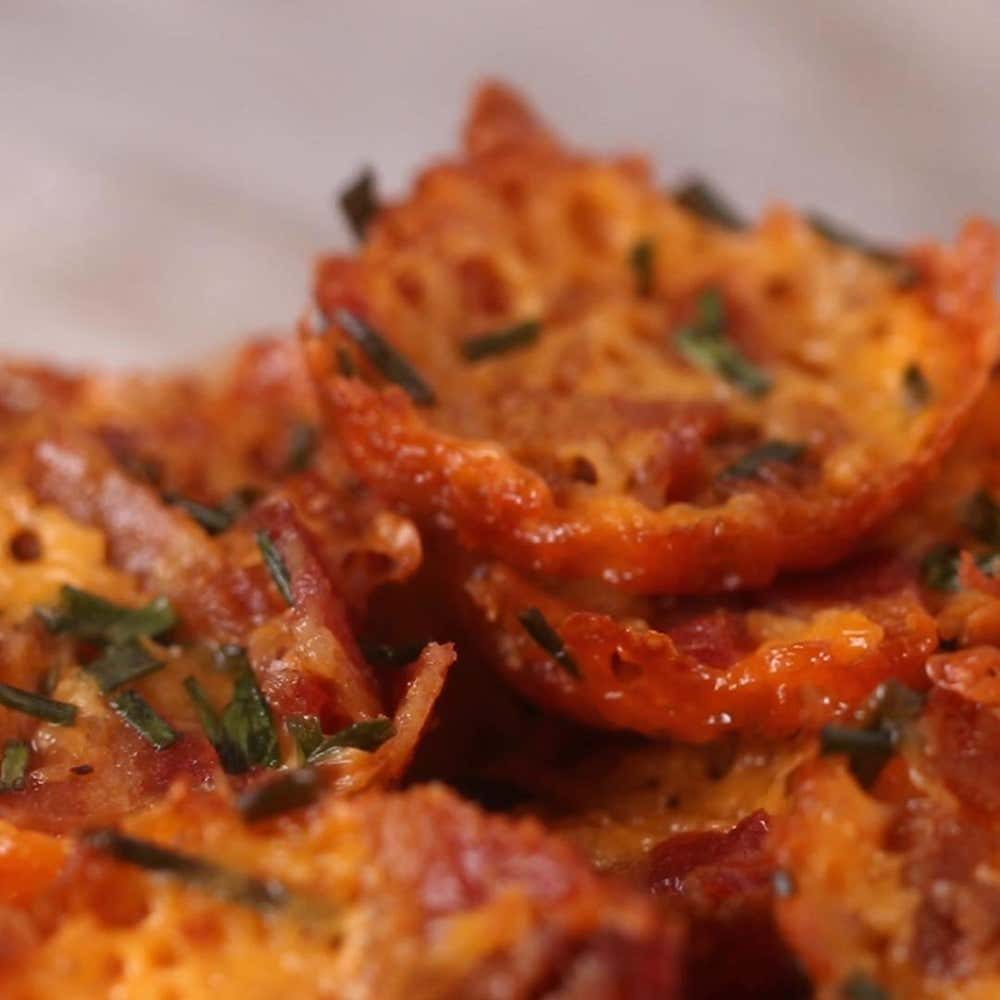 bacon cheddar chips recipe by tasty