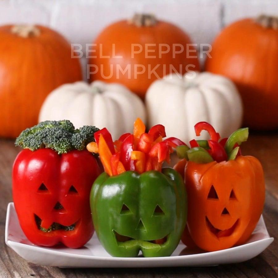 Bell Pepper Pumpkins