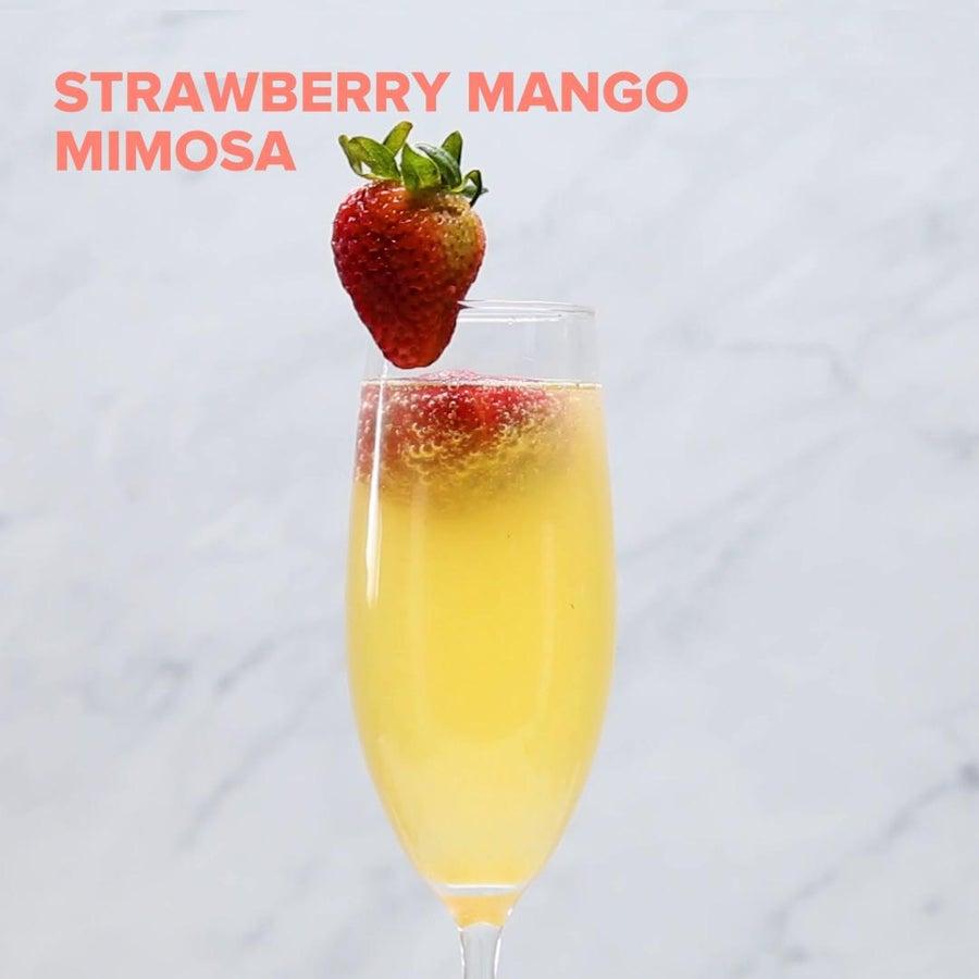Strawberry Mango Mimosa