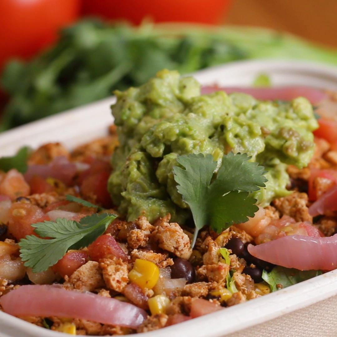 BuzzFeed Tasty Sofritas Burrito Bowl