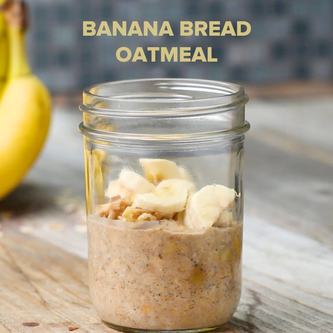 Banana Bread Instant Oatmeal Recipe By Tasty