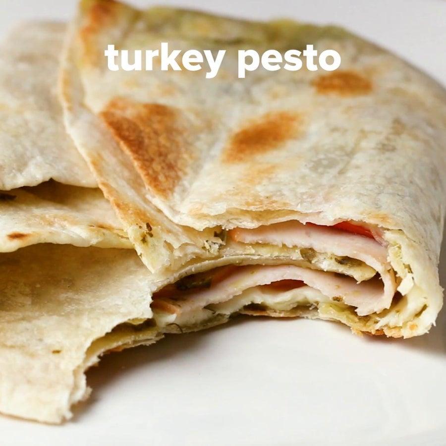 Turkey Pesto Toaster