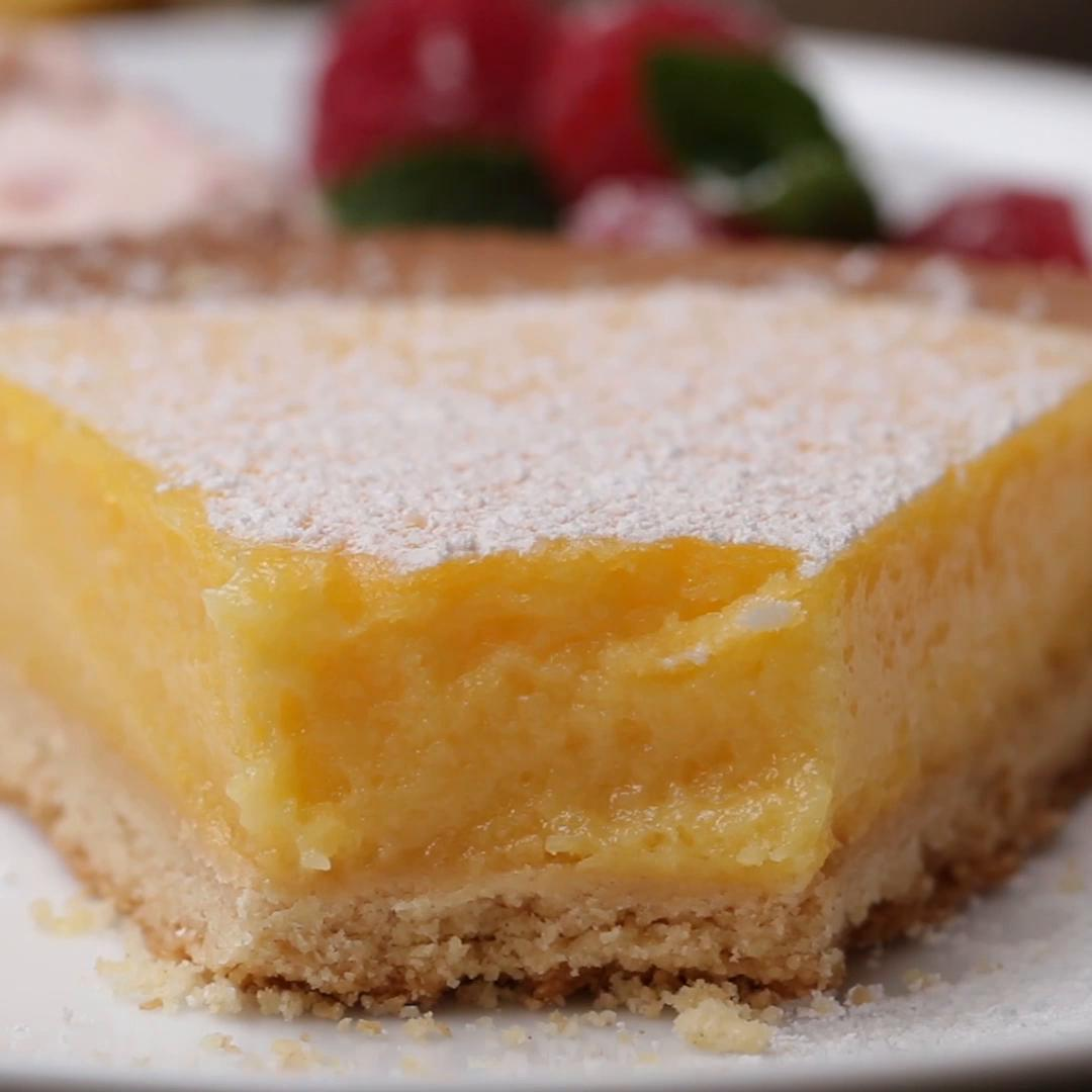 French Style Lemon Tart Recipe By Tasty