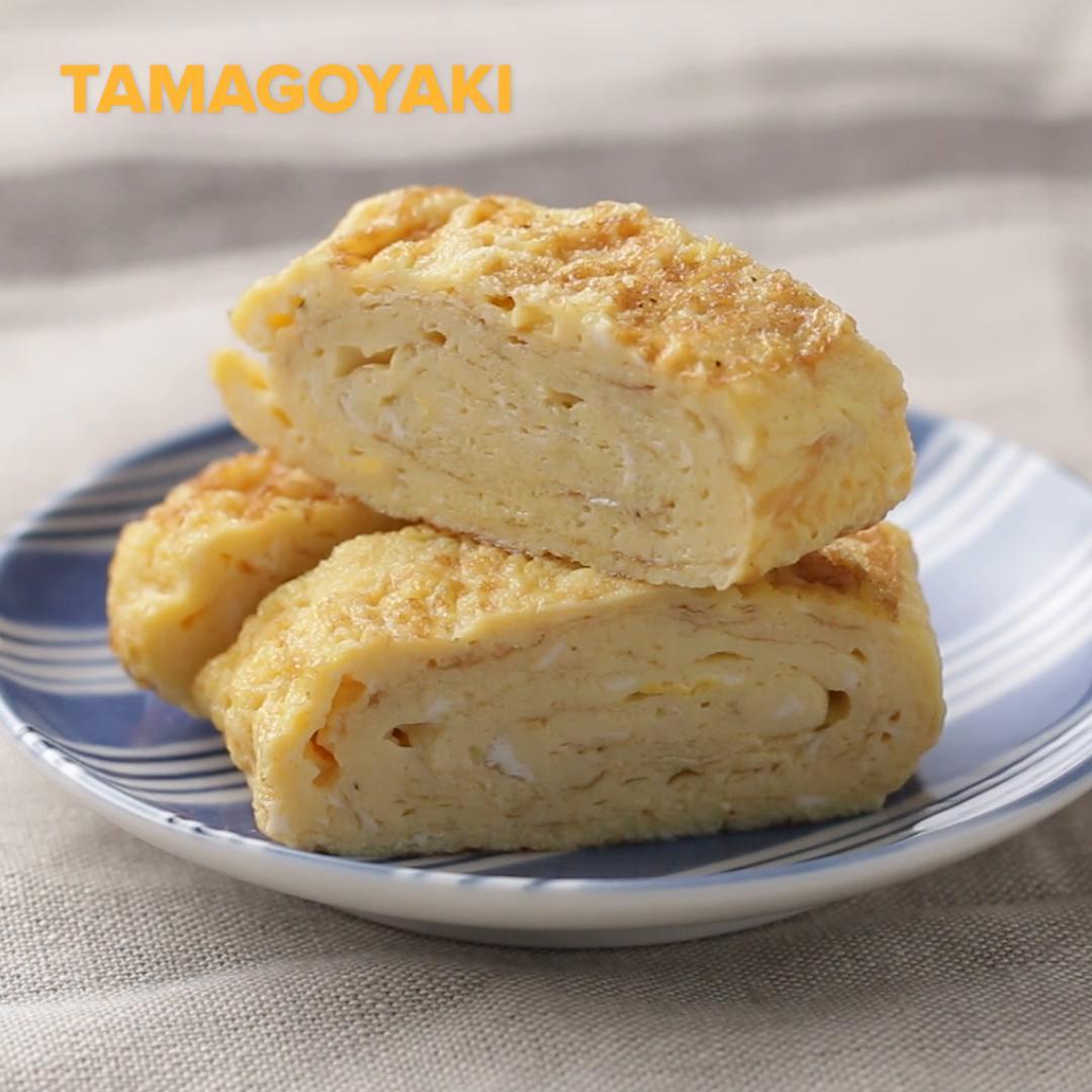 Tamagoyaki Japanese Egg Omelet Recipe By Tasty