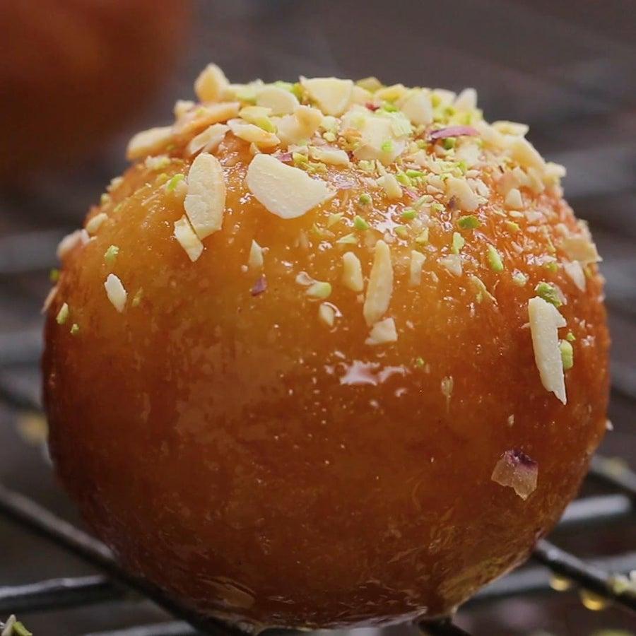 Indian Fried Doughnuts (Gulab Jamun)