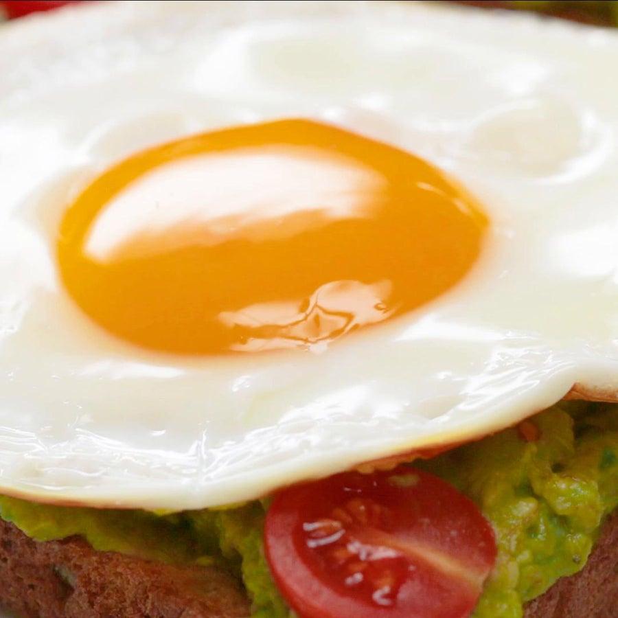 Egg, Avocado, & Tomato Toast