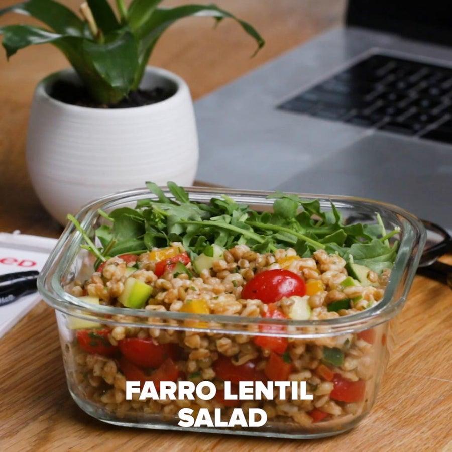 Farro Lentil Salad