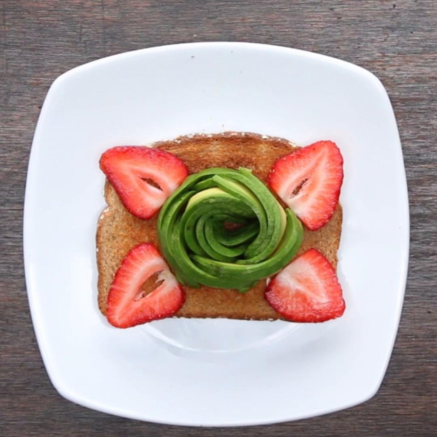 Avocado Rose Avocado Toast