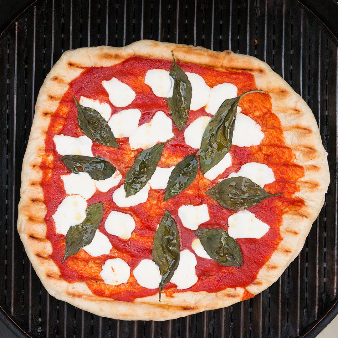Grilled Pizza Recipe by Tasty image