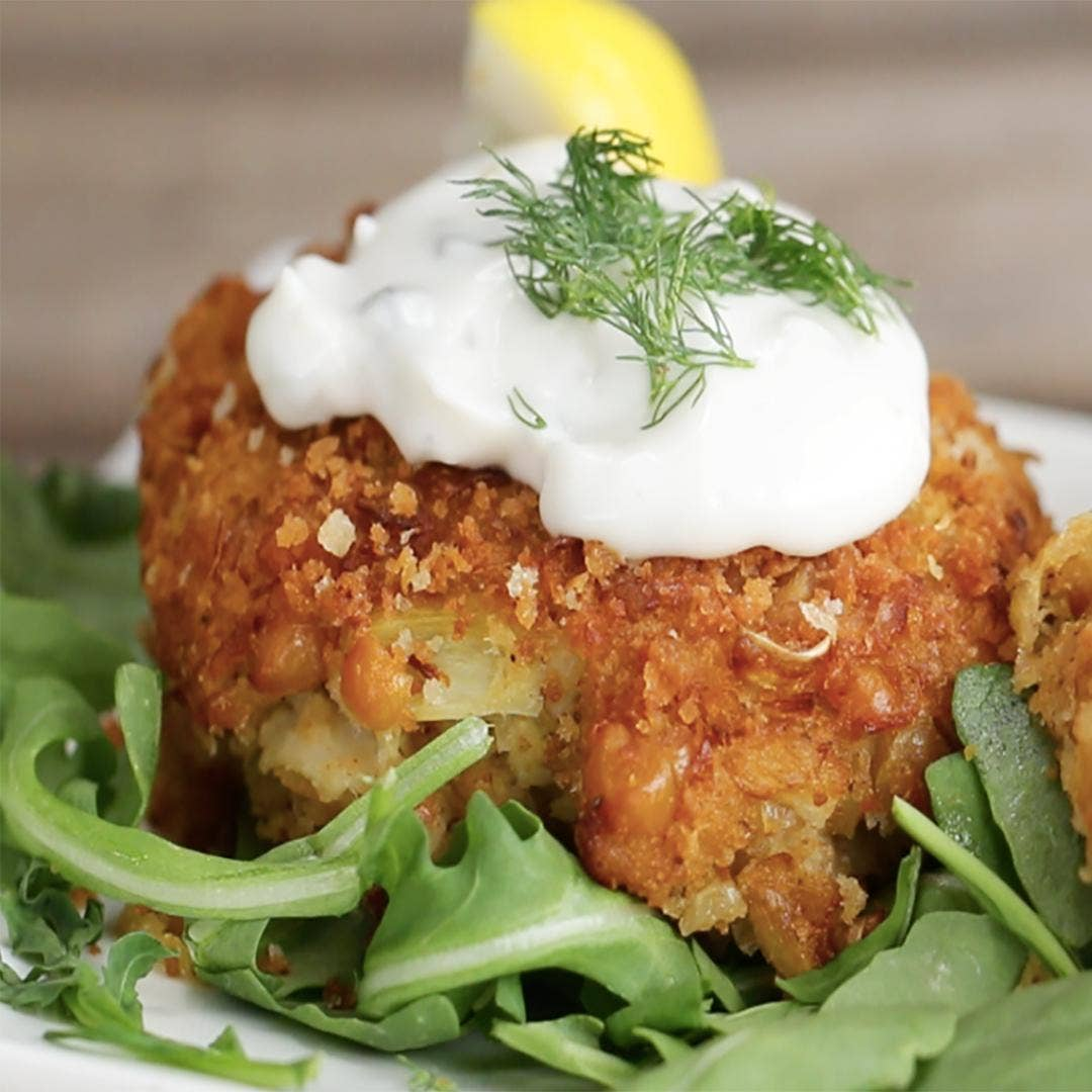 Vegan Crab Cakes Recipe By Tasty