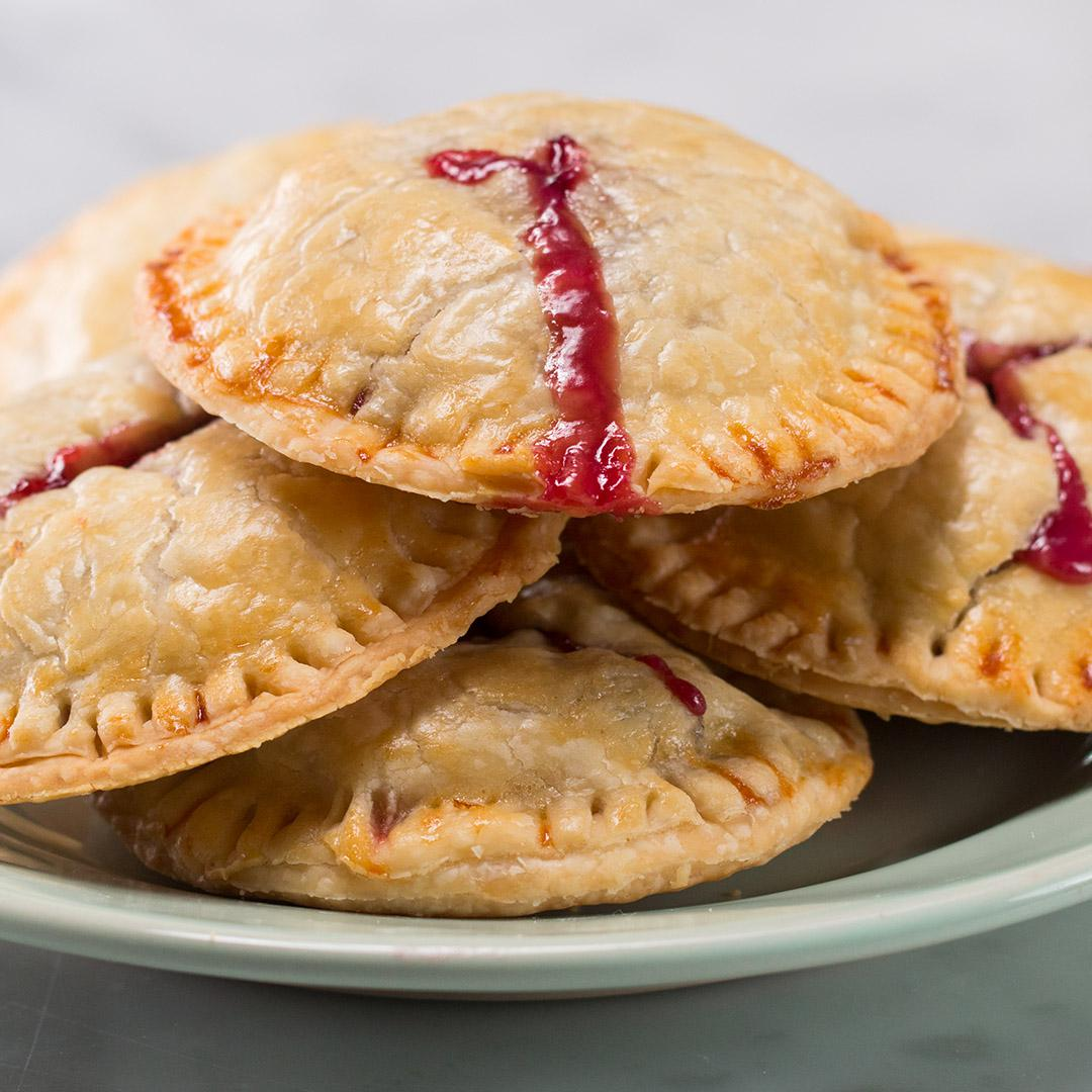 4 Ingredient Berries Cream Hand Pies Recipe By Tasty