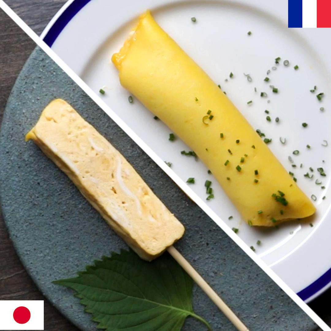 French Omelette Vs Japanese Omelette Recipes