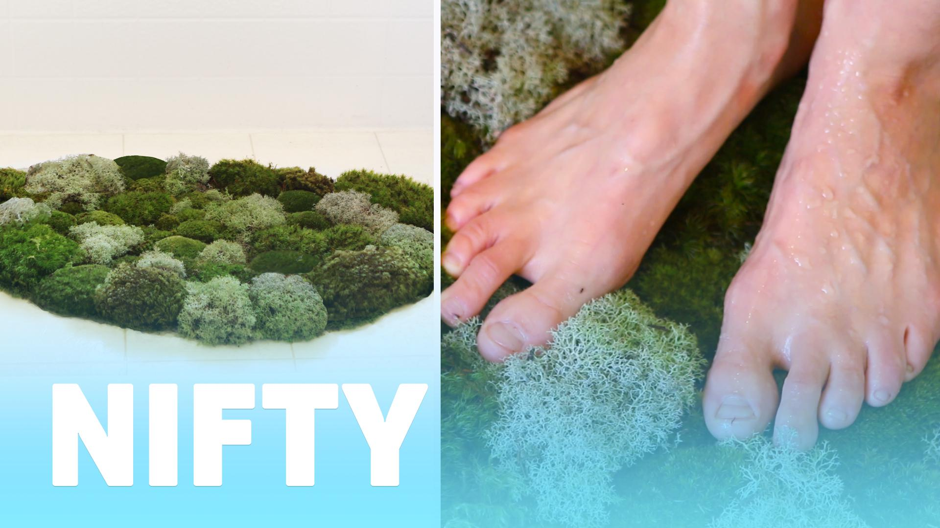 Buzzfeed Video Living Moss Bath Mat