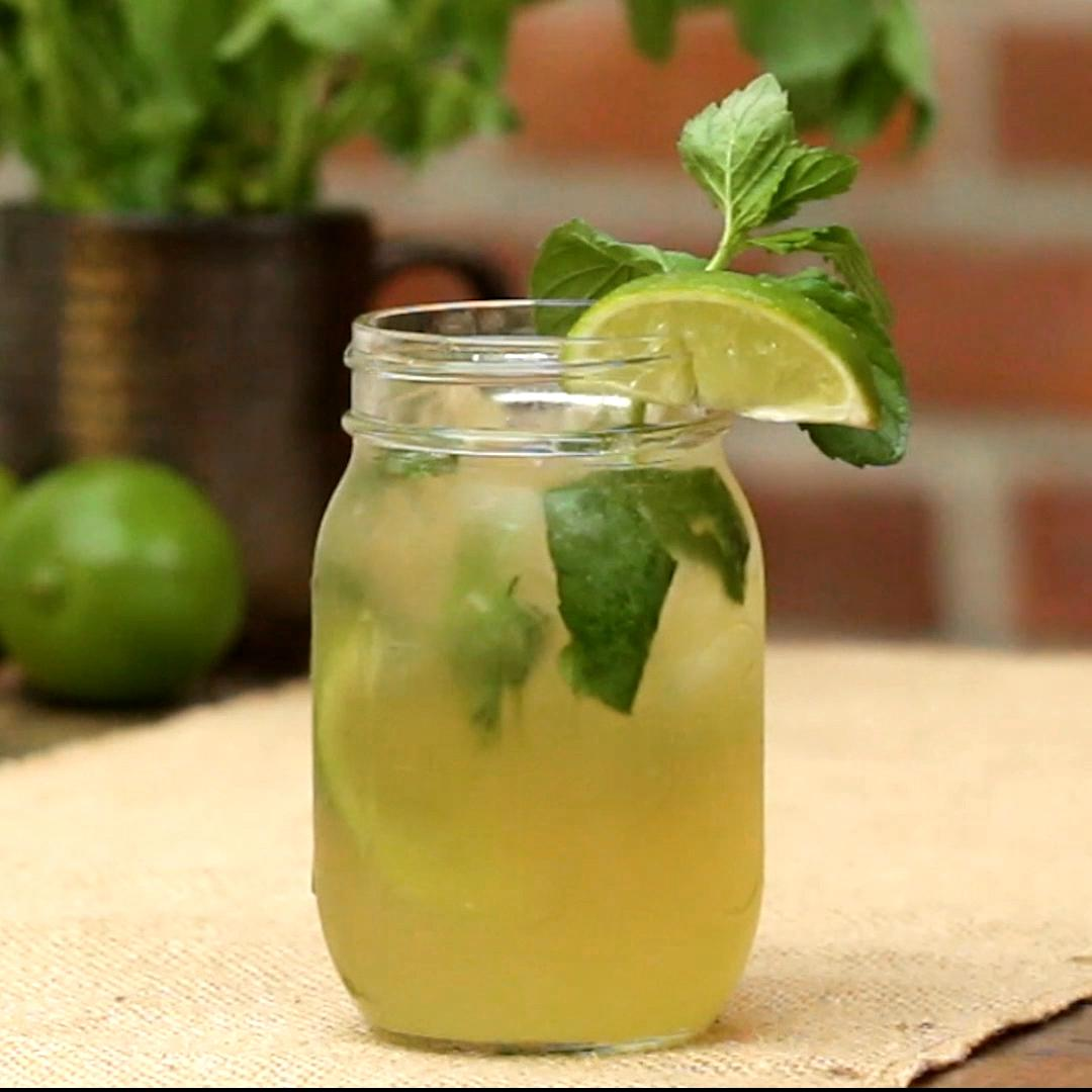 Whiskey Ginger Mojito Recipe By Tasty