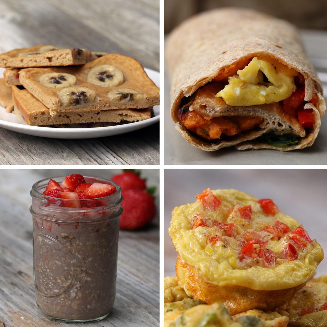 Kid Friendly Breakfast Meal Prep Recipes