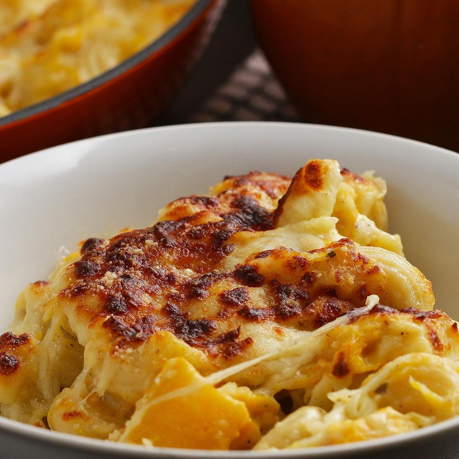 Pumpkin Mac 'n' Cheese