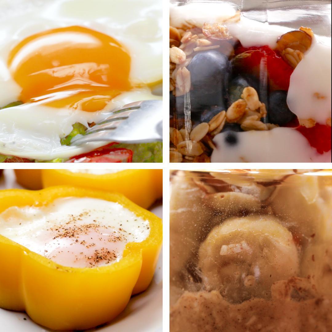 4 Breakfasts Under 10 Minutes Recipes
