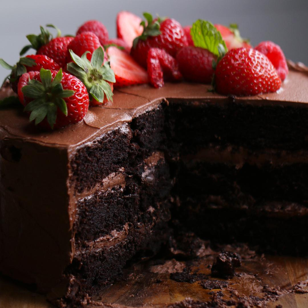 Butter And Chocolate Cake