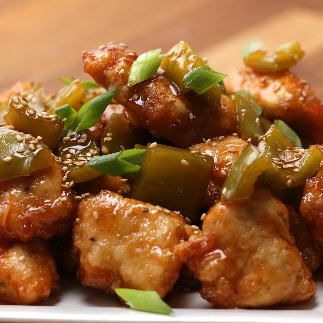 Sweet Sour Chicken Recipe By Tasty