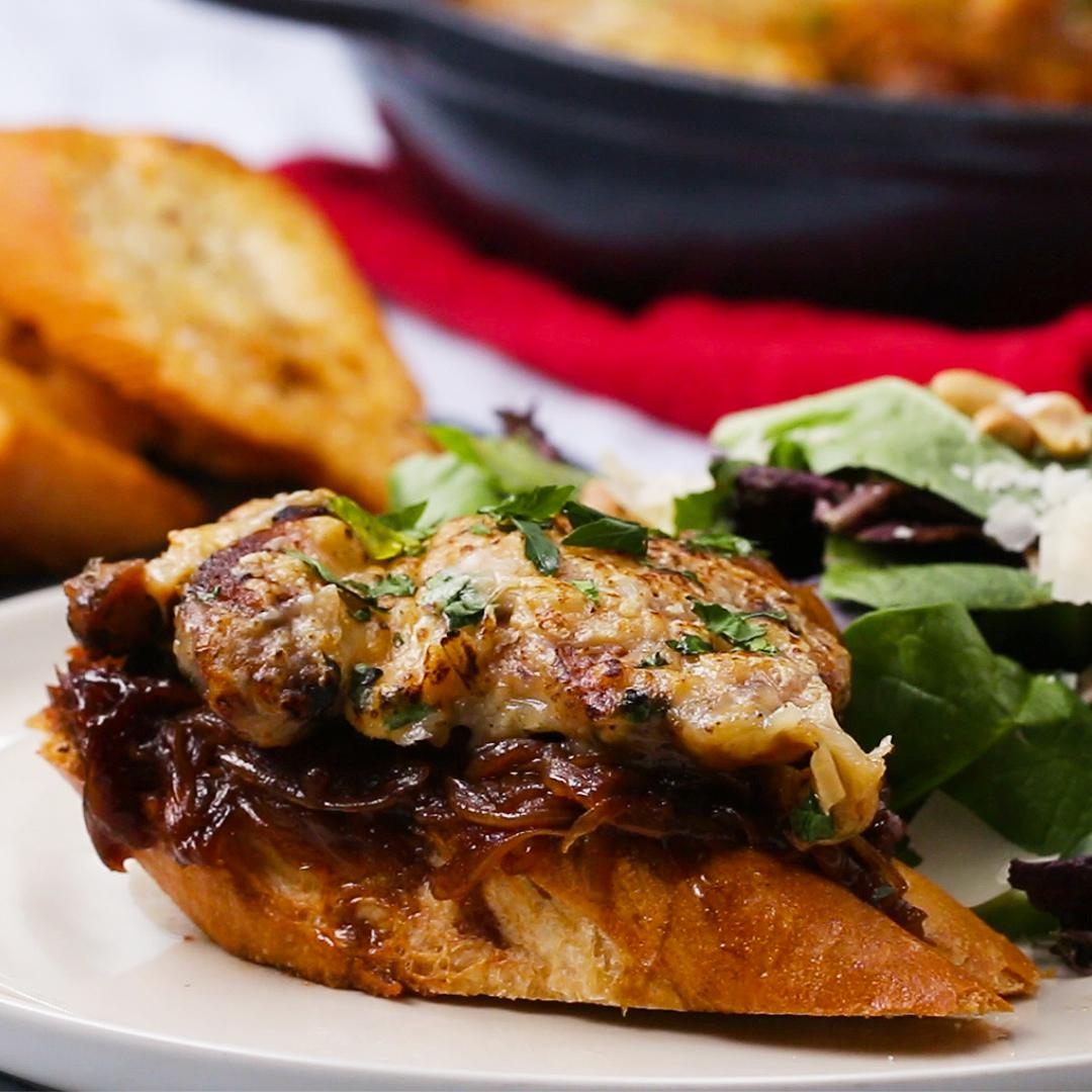 French Onion Soup Chicken Recipe