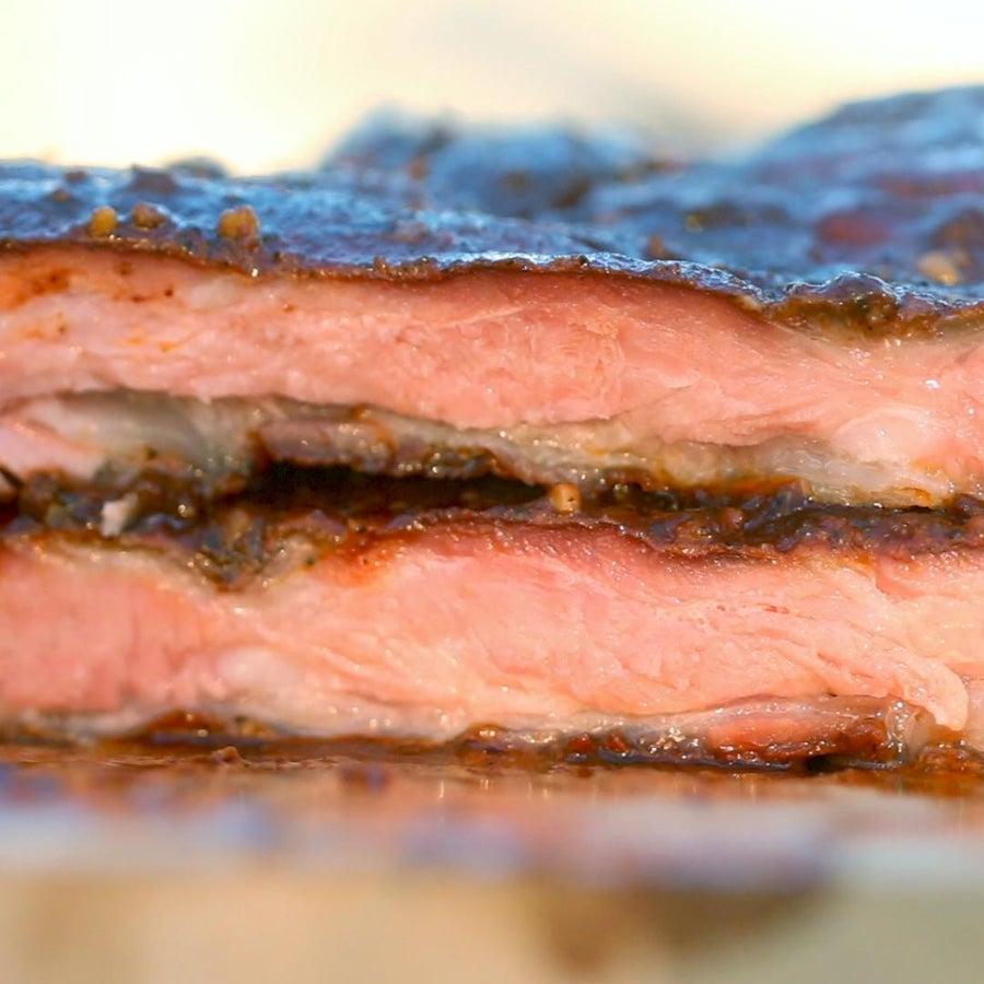 BBQ Smoker Pork Ribs