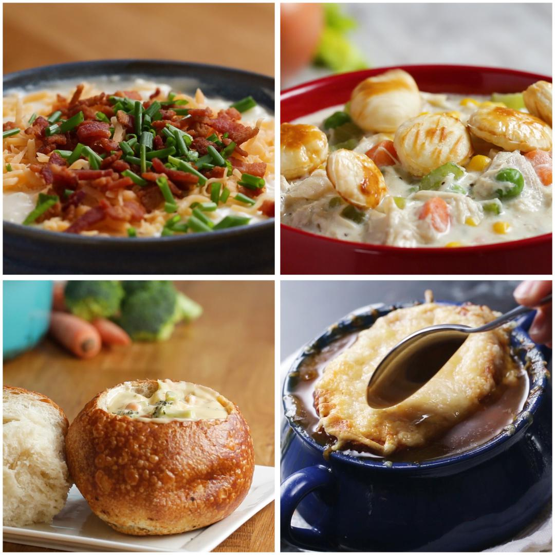 5 Soups To Warm Your Soul Recipes