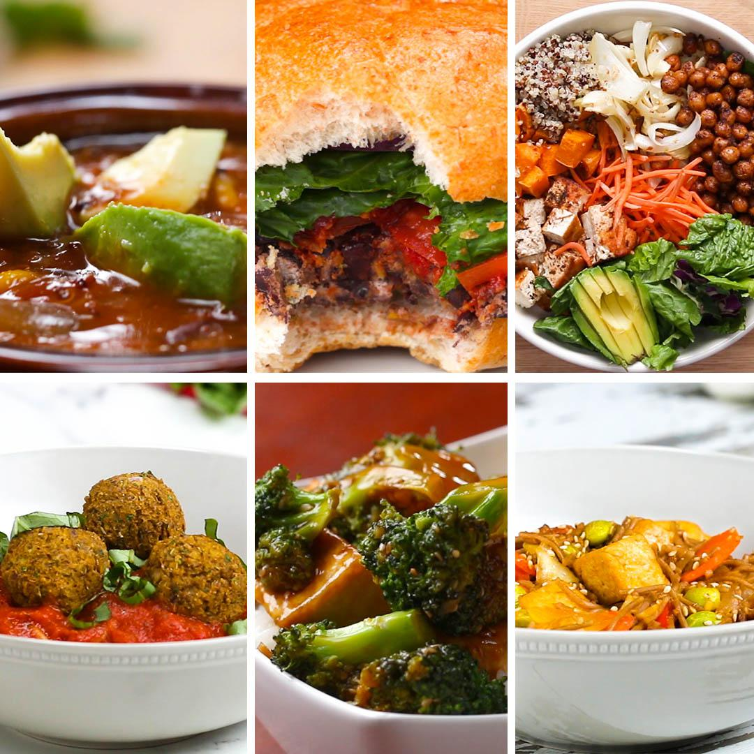 6 High Protein Vegetarian Dinners Recipes