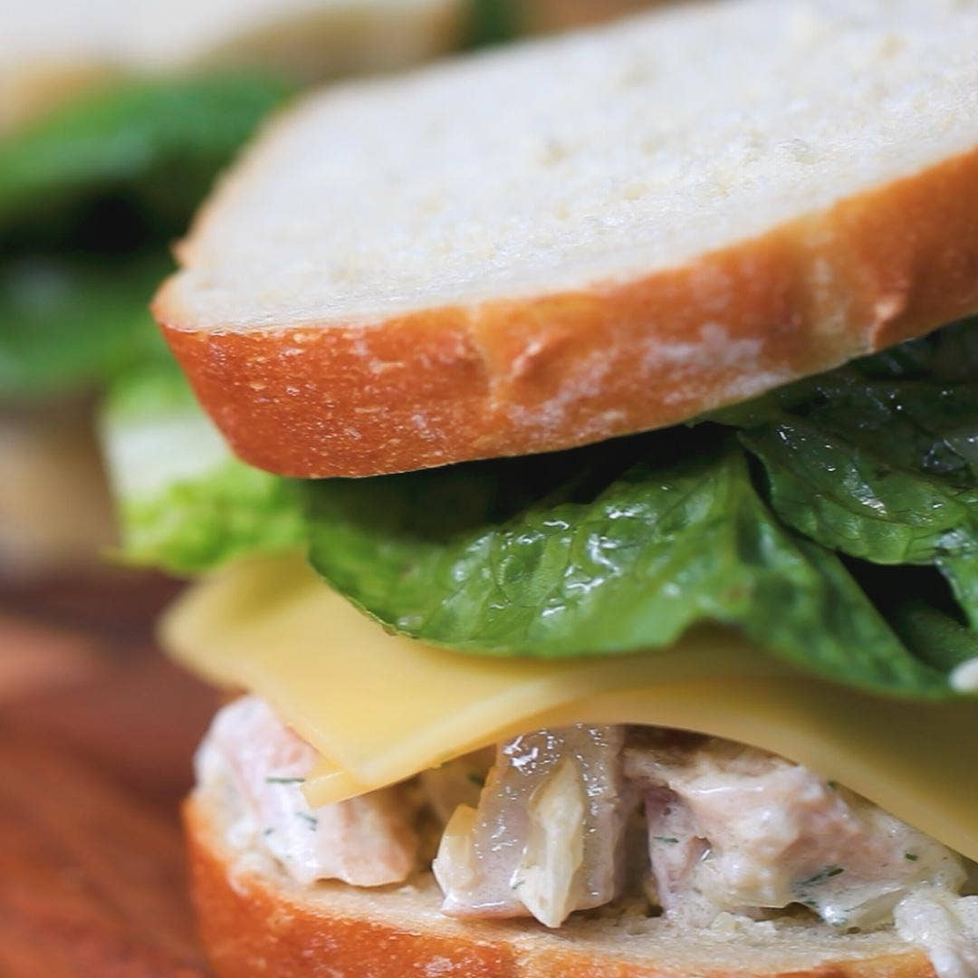 Leftover Turkey Sandwich Recipe By Tasty