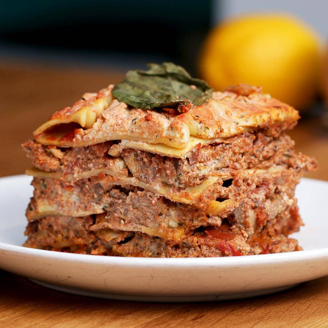 Vegan Lasagna Recipe By Tasty