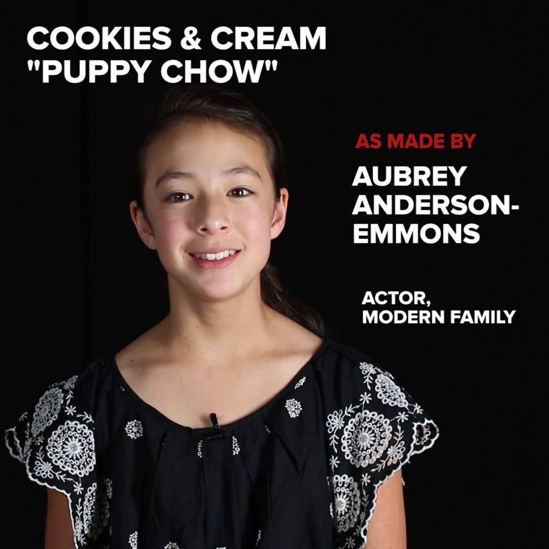 Cookies Cream Puppy Chow Recipe By Tasty