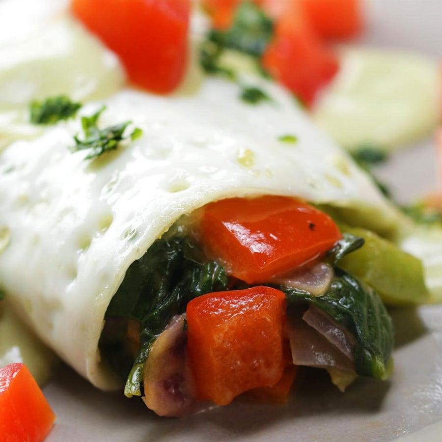 Low-Carb Egg White Omelette