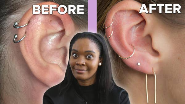 Buzzfeed Video We Got Curated Ear Piercings