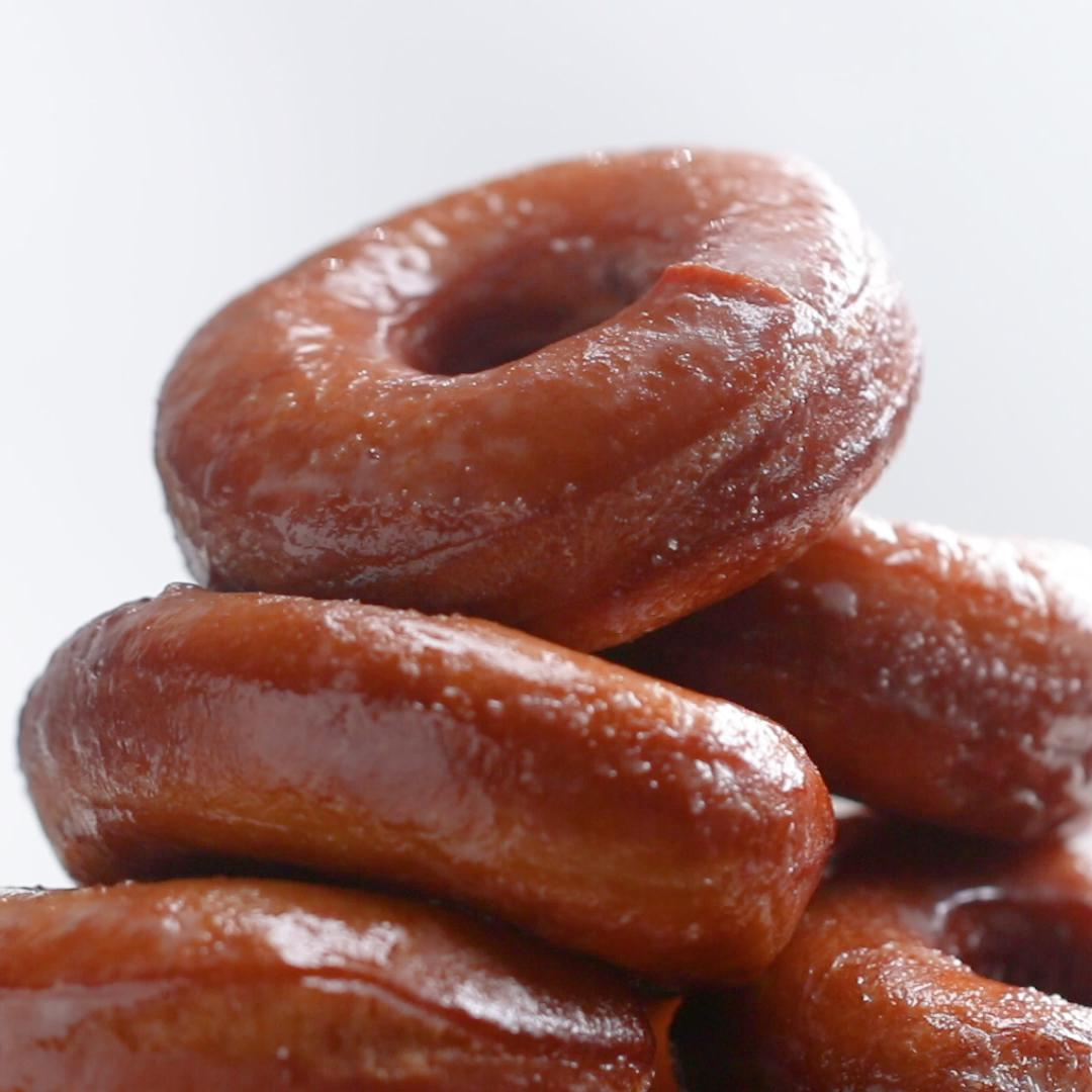 Classic Glazed Donuts Recipe By Tasty