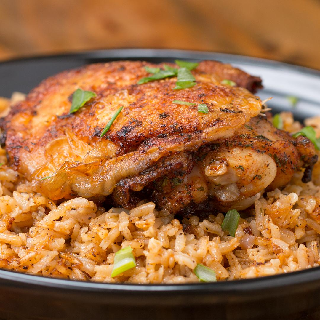Paprika Chicken Amp Rice Bake Recipe By Tasty