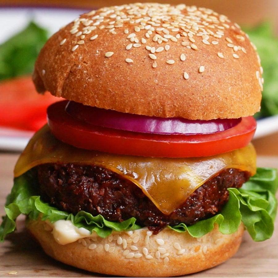 The Best Ever Vegan Burger
