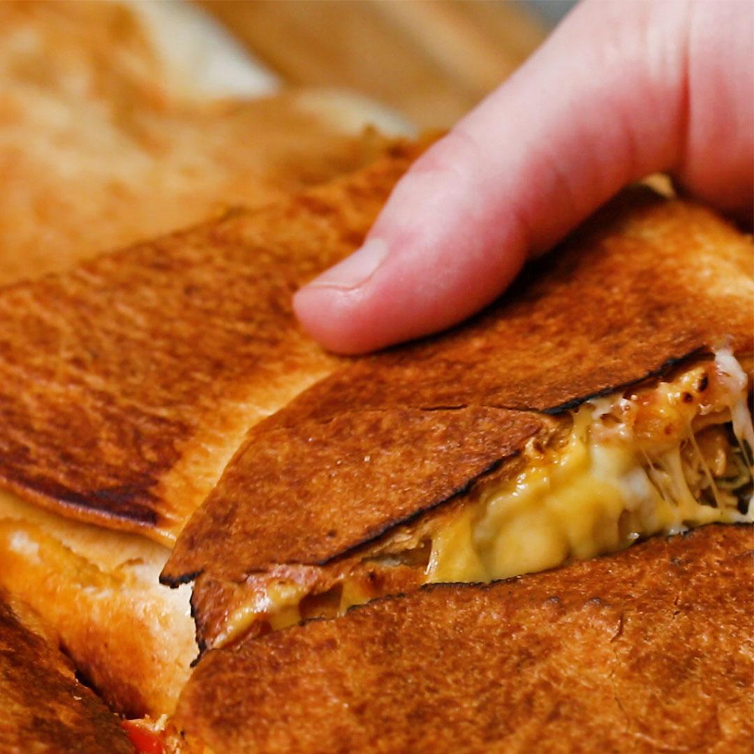 Sheet Pan Crunch-Wrap Recipe by Tasty