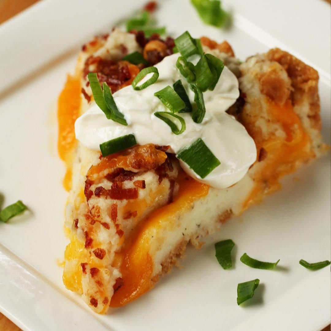 Mashed Potato Pie Recipe by Tasty image