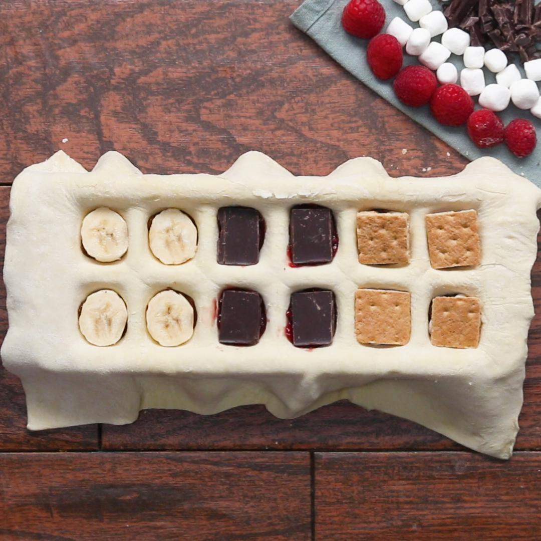 Ice Tray Pastry Pockets Recipes