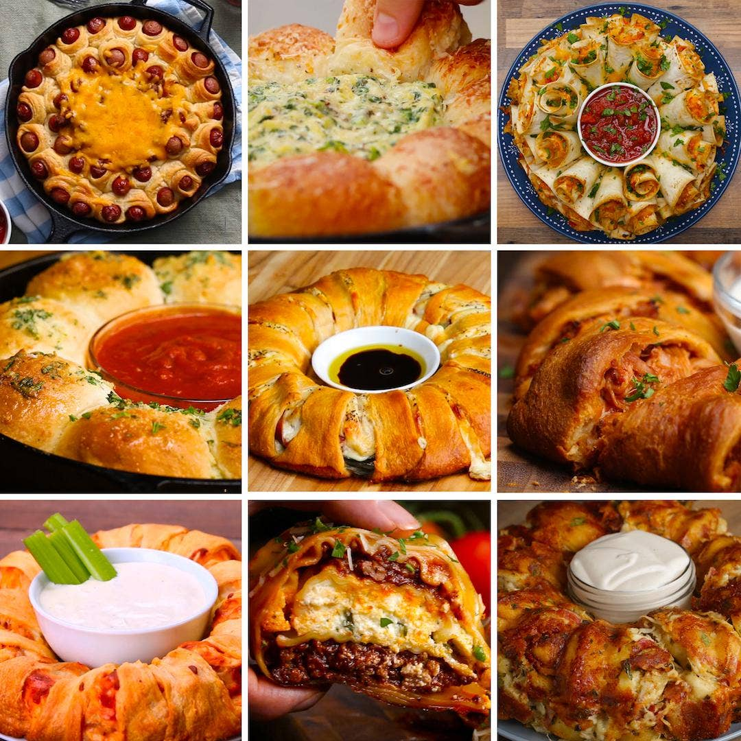 9 Mind Blowing Party Food Rings Recipes