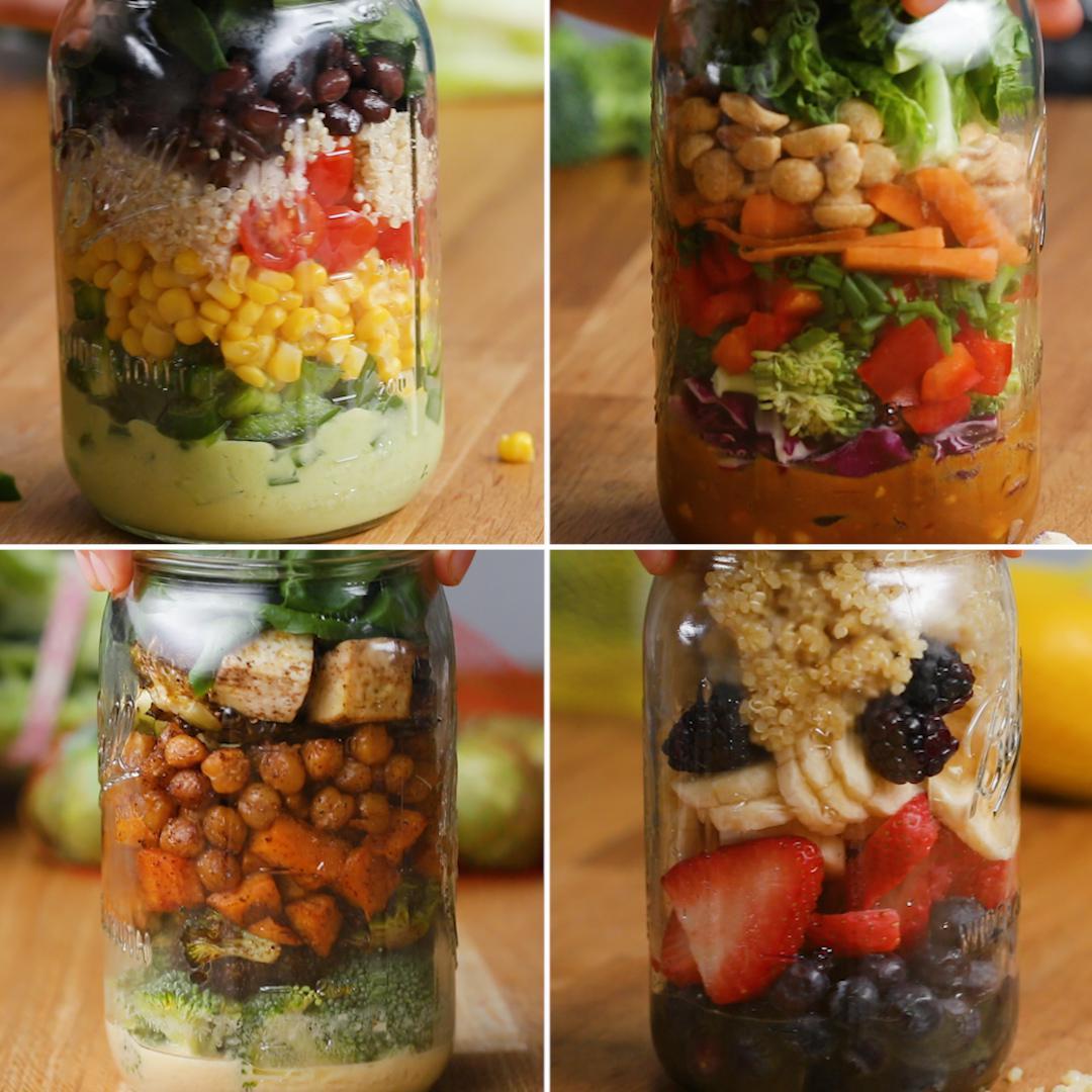Make Ahead Mason Jar Salads For The Week Recipes