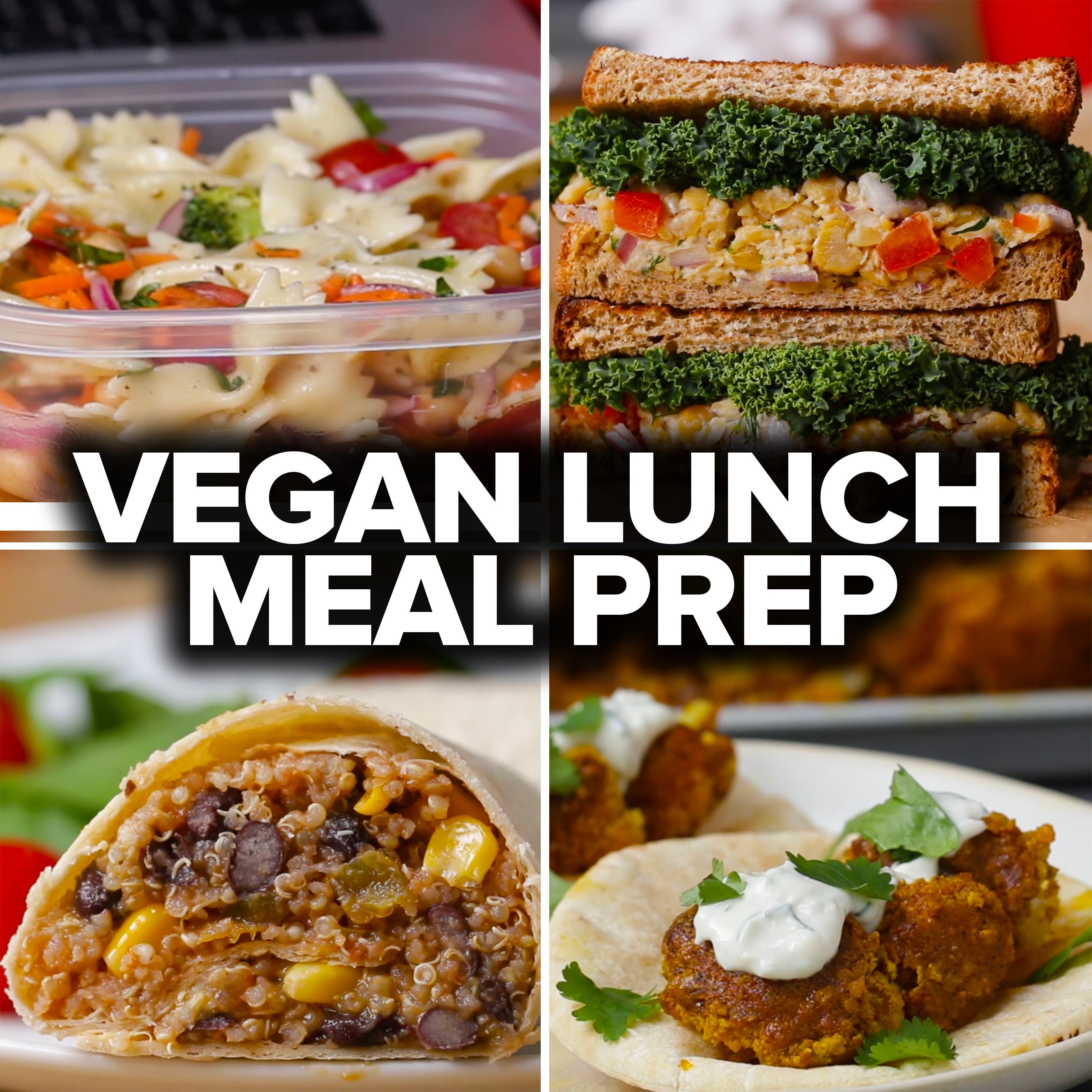 Betere 6 Vegan Lunch Meal Preps | Recipes FP-68