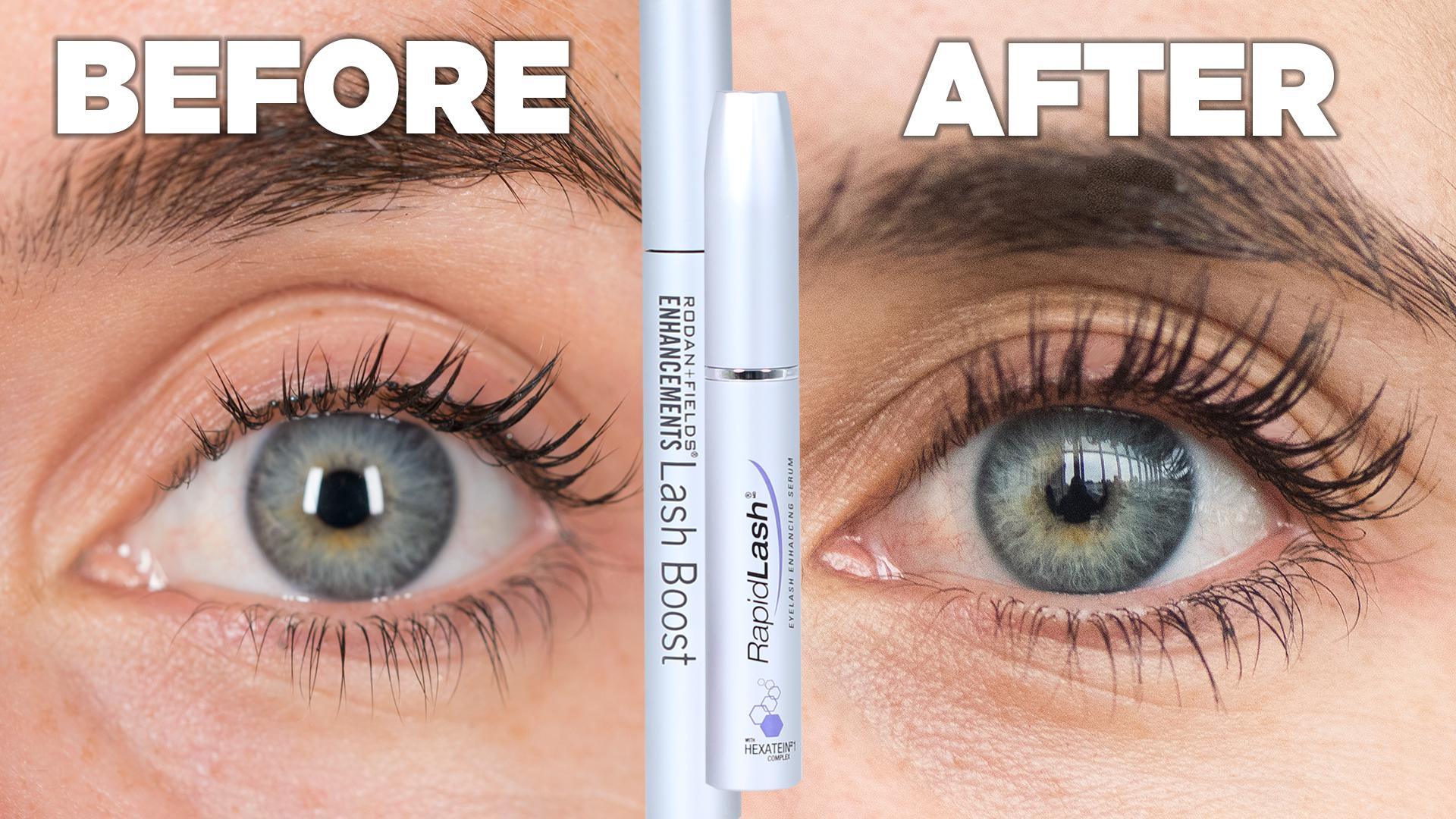 as/is - women try eyelash growth serum for a month