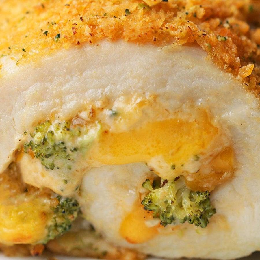 Broccoli Cheddar Chicken Rollups