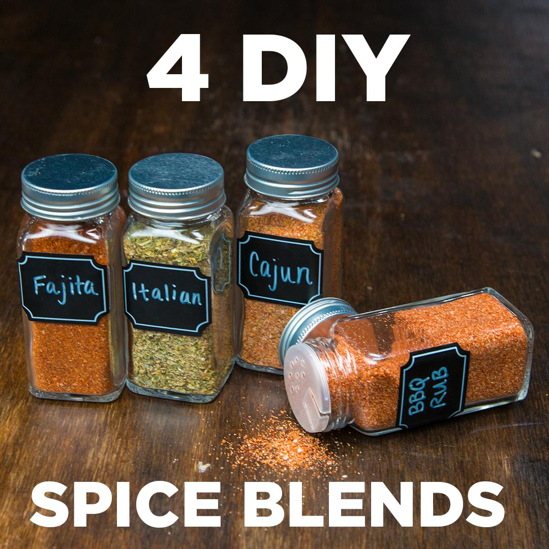 4 DIY Spice Blends | Recipes