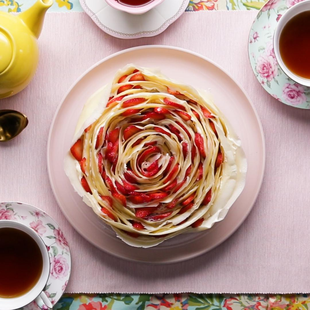 Tasty Crepe Cake Recipe