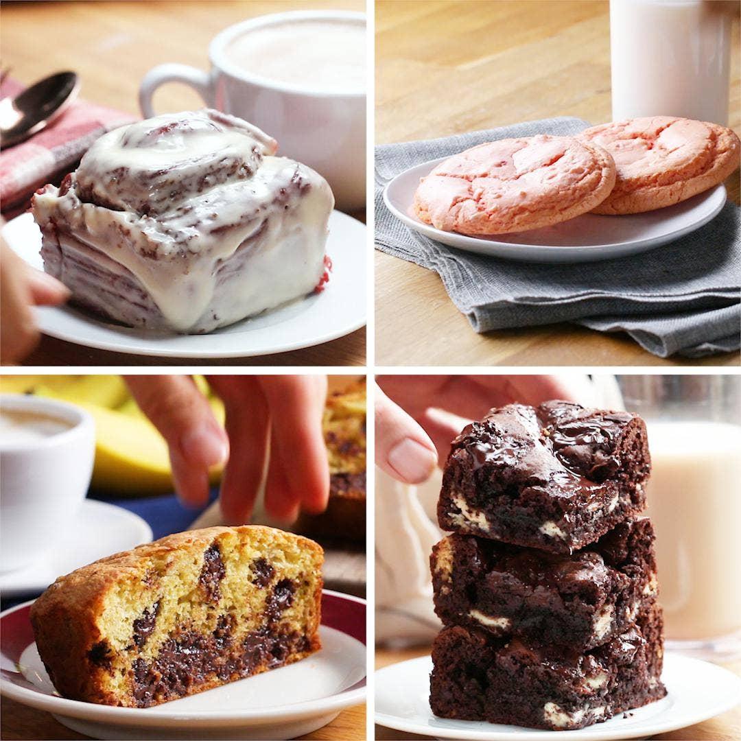 4 Dessert Hacks Using Box Cake Mix Recipes