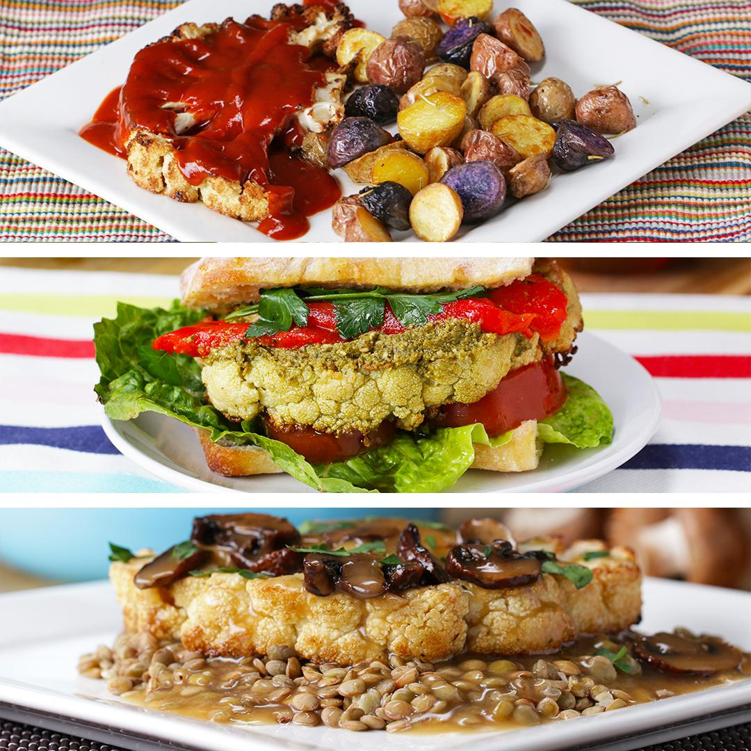 Tasty food videos and recipes cauliflower steaks forumfinder Image collections