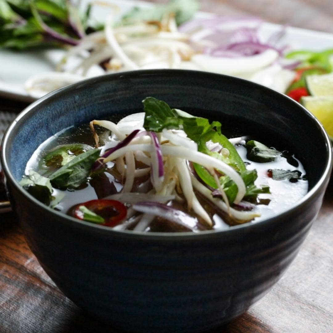 Traditional Vietnamese Beef Pho Recipe By Tasty